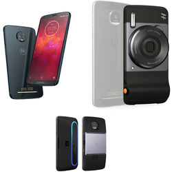 Moto Z3 Play 64GB Smartphone with Camera/Projector/Speaker Moto Mods