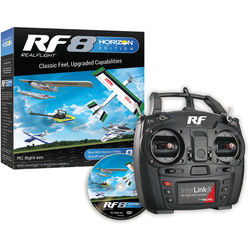 RealFlight RealFlight RF8 Horizon Hobby Edition with InterLink-X Controller