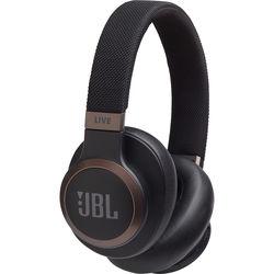 JBL LIVE 650BTNC Wireless Over-Ear Noise-Canceling Headphones (Black)