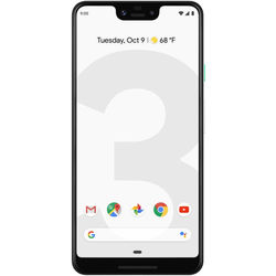 Google Pixel 3 XL 64GB Smartphone (Unlocked, Clearly White)