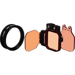 Flip Filters FLIP7 3-Filter Kit with MacroMate Mini +15 Lens for GoPro HERO Cameras