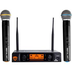 Nady Nady DW-22 HTHT Digital Wireless Microphone System (Dual Handheld Mics)