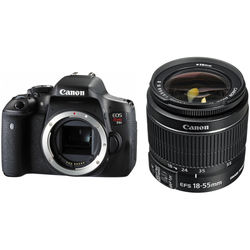 Canon EOS Rebel T6i DSLR Camera with 18-55mm f/3.5-5.6 IS II Lens Kit