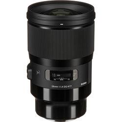 Sigma 28mm f/1.4 DG HSM Art Lens for Leica L