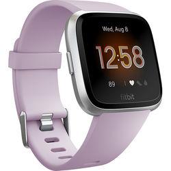 Fitbit Versa Lite Edition Smartwatch (Lilac/Silver)