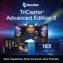 NewTek TriCaster Advanced Edition 3 Software Update for Advanced Edition v1/v2 Systems (Download)