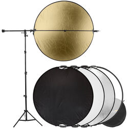 "Impact 5-In-1 Collapsible Circular Reflector Kit (42"")"
