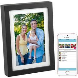 "PhotoSpring 8"" Wi-Fi Digital Photo Frame & Album (Black)"