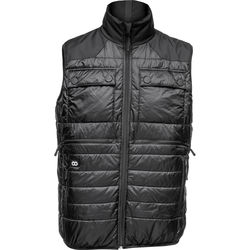 COOPH Heatable Photo Vest (Black/Anthracite, Small)