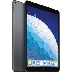 "Apple 10.5"" iPad Air (Early 2019, 256GB, Wi-Fi + 4G LTE, Space Gray)"