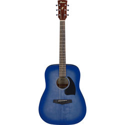 Ibanez PF18 Performance Series Acoustic Guitar (Washed Denim Burst Open Pore)