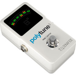 TC Electronic Polytune 3 Polyphonic Tuner Pedal for Electric Guitar & Bass