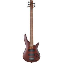 Ibanez SR Standard 5-String Electric Bass - 24 Frets - Brown Mahogany