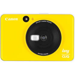 Canon IVY CLIQ Instant Camera Printer (Bumblebee Yellow)