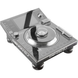 Decksaver Polycarbonate Cover for Denon SC5000M/SC5000 Prime Media Player (Smoked Clear)