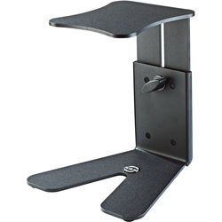 K&M Table Monitor Workstation Stand(Bearing Plate:5.906 x 6.693)(Black)