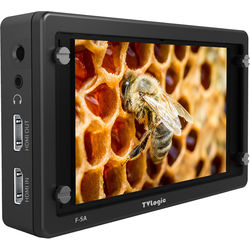 """TVLogic F-5A 5.5"""" IPS On-Camera Monitor with L-Series Type Plate"""