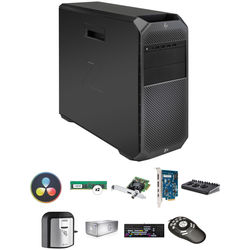 B&H Photo PC Pro Workstation Custom HP Z4 G4 Turnkey with DaVinci Resolve 15 Studio