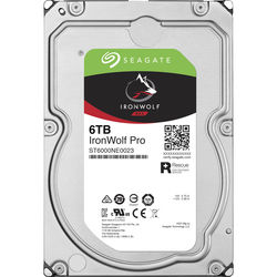 "Seagate 6TB IronWolf Pro 7200 rpm SATA 3.5"" Internal NAS"