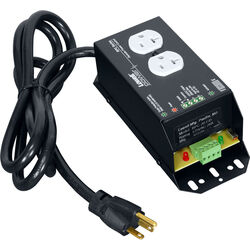 Lowell Manufacturing Remote Power Control - 20A, 1 Duplex Outlet, 6' Cord