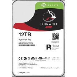 "Seagate 12TB IronWolf Pro 7200 rpm SATA III 3.5"" Internal NAS HDD"