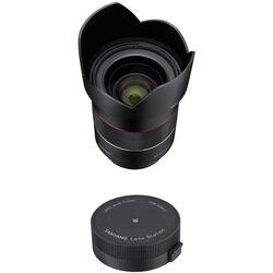 Samyang AF 35mm f/1.4 FE Lens with Lens Station Kit for Sony E