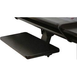 Omnirax Adjustable Computer Keyboard / Mouse Shelf For Aria (Black)