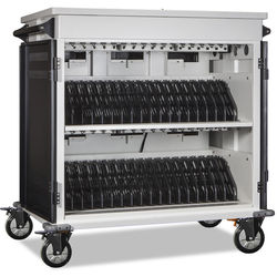 """Anywhere Cart AC-MANAGE 36-Bay Network-Ready Charging Cart with Intelli-Sense (Devices up to 17"""")"""