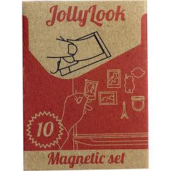 Jollylook Mini Magnet Set (10 Pack)