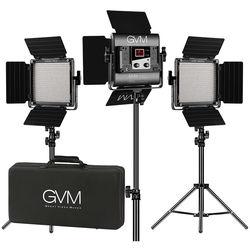 GVM 560AS Bi-Color LED 3-Panel Kit