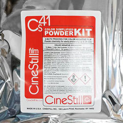 Cinestill Cs41 Powder Developing Kit for C-41 Color Film
