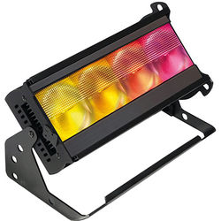 CHROMA-Q Color Force II 12 RGBA LED Cyclorama Wash Effect Light (Black, with LumenRadio)