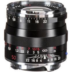 ZEISS Planar T* 50mm f/2 ZM Lens (Black)
