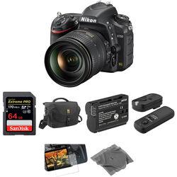 Nikon D750 DSLR Camera with 24-120mm Lens Basic Kit