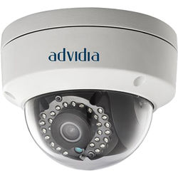 Advidia A-37-FW 3MP Outdoor Network Dome Camera with Night Vision & 2.8mm Lens