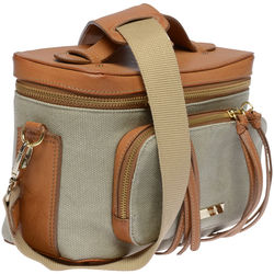 FEDERICO SERRANI Kimberley Agatha Collection Camera Bag (Desert)