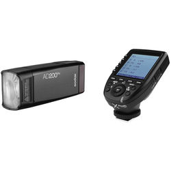 Godox AD200Pro Pocket Flash with XProC Trigger Kit for Canon
