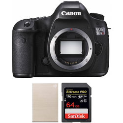 Canon EOS 5DS R DSLR Camera Body and Storage Kit