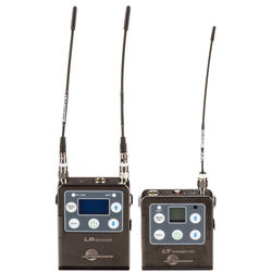 Lectrosonics Lectrosonics L Series ZS-LRLT Camera-Mount Wireless Omni Lavalier Microphone System (A1: 470 to 537 MHz)
