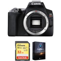 Canon EOS Rebel SL3 DSLR Camera Body with Accessory Kit (Black)
