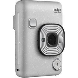 FUJIFILM INSTAX Mini LiPlay Hybrid Instant Camera (Stone White)