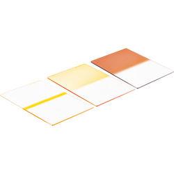 Schneider 4x5.65 Graduated Golden Sepia 3 Glass Filter Soft Edge Vertical Grad