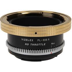 FotodioX Vizelex ND Throttle Lens Mount Adapter Compatible w/Arri PL Mount Lens To Canon RF Mount Camera