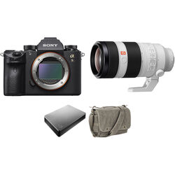 Sony Alpha a9 Mirrorless Camera with FE 100-400mm Lens Storage Kit