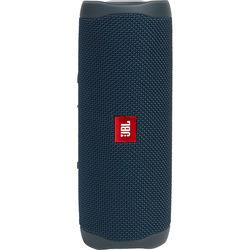 JBL Flip 5 Waterproof Bluetooth Speaker (Ocean Blue)