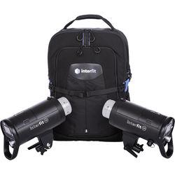 Interfit S1N 500Ws TTL Battery-Powered 2-Monolight Backpack Kit