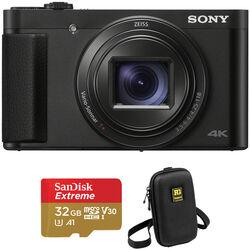 Sony Cyber-shot DSC-HX99 Digital Camera with Accessories Kit