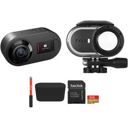 Rylo 360° 5.8K Camera Kit with Waterproof Case and Selfie Stick