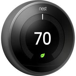 Google Nest Learning Thermostat (3rd Generation, Black)