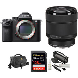 Sony Alpha a7R II Mirrorless Digital Camera with 28-70mm Lens and Accessories Kit